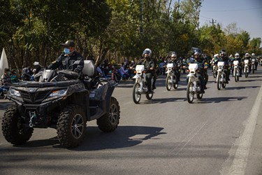 رژه خودرویی اقتدار نیروهای مسلح اردبیل