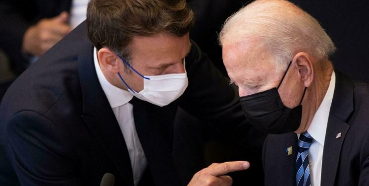 تنش آمریکا و فرانسه| موافقت ماکرون با بازگشت سفیر فرانسه در واشنگتن