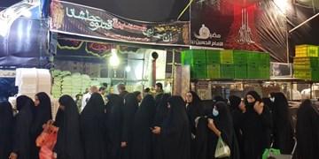 موکبهای ایرانی در اطراف حرم امام حسین (ع) راهاندازی شد +فیلم