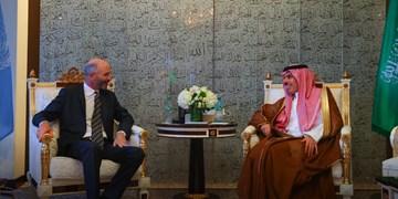 گفتوگوی نماینده آمریکا در امور ایران با وزیر خارجه سعودی