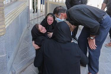 مادر شهید علی لندی نوجوان فداکار دهه هشتادی