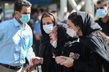 مراسم تشییع شهید نوجوان فداکار دهه هشتادی در اصفهان