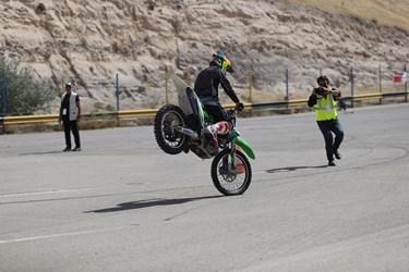 مسابقه موتورسواری انتخابی  آذربایجانشرقی در کلاسهای ۱۲۵ سی سی و آزاد