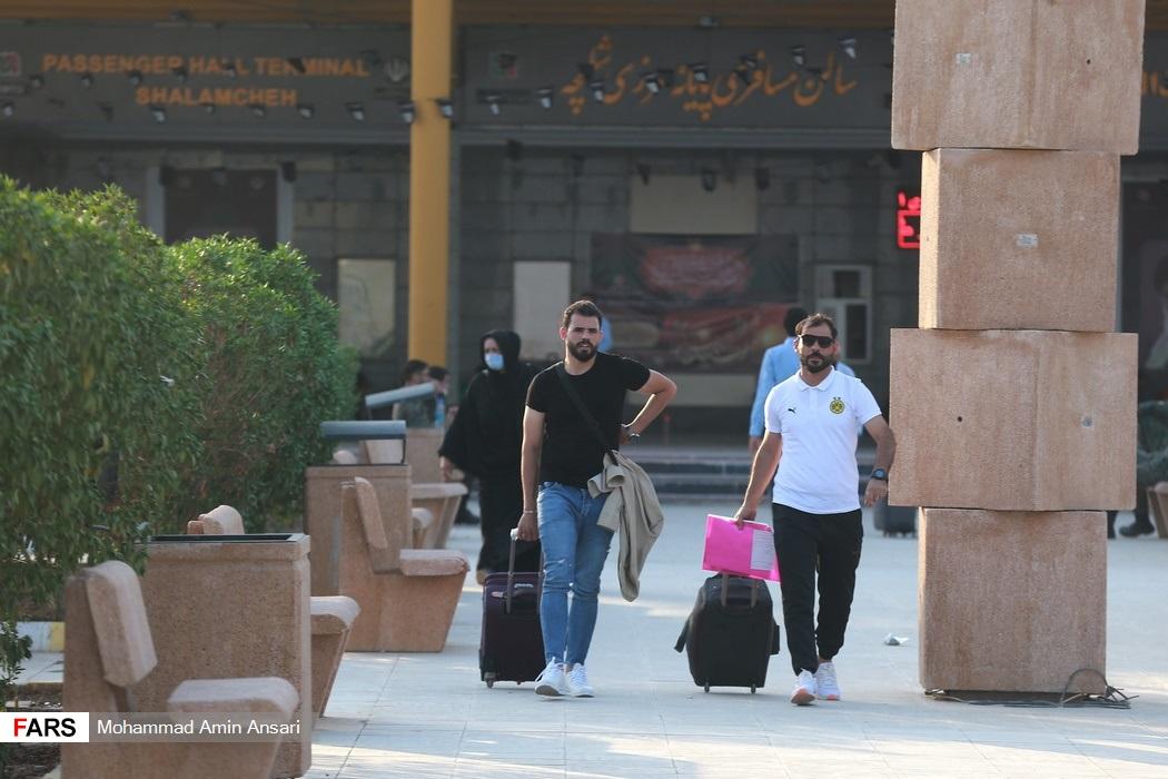حضور هزاران زائر در مرز شلمچه
