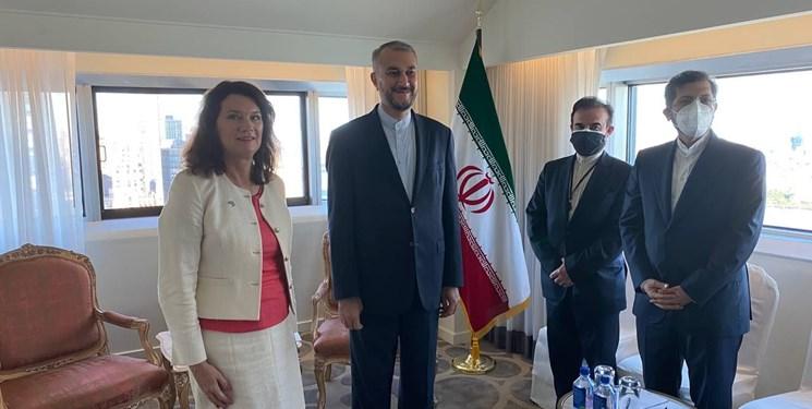 وزیر خارجه سوئد: سوئد به دنبال گسترش روابط با ایران