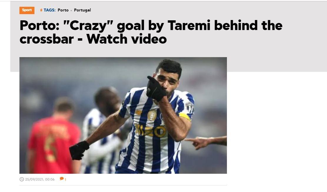 واکنش جالب رسانههای اروپایی به گل طارمی/ ستاره ایرانی دوباره «شعبده بازی» کرد