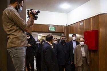 محمدمهدی اسماعیلی وزیر فرهنگوارشاد اسلامی در آیین آغاز سال تحصیلی جدید در هنرستان موسیقی