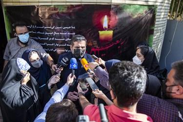 محمدمهدی اسماعیلی وزیر فرهنگوارشاد اسلامی در جمع خبرنگاران