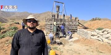 این جهادگران اهل ما میتوانیم هستند/ ساخت مخزن آب روستای محروم در کمترین زمان