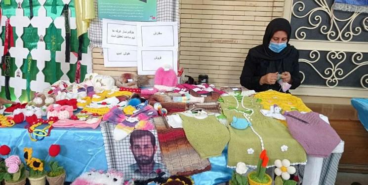نمایشگاه صنایعدستی بانوان تبریز در مسجد طوبی