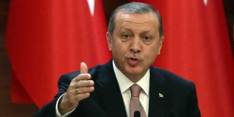 اردوغان: هیچ کشوری نباید در خرید تجهیزات دفاعی ما دخالت کند