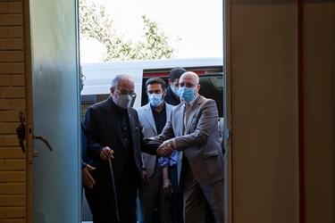 محمدعلی زلفیگل وزیر علوم، تحقیقات و فناوری به مراسم آغاز سال تحصیلی دانشگاهها در دانشگاه شریف