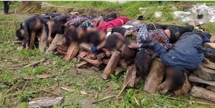 پرده دیگری از جنایات ارتش میانمار؛ در روستای «یاو» چه گذشت؟