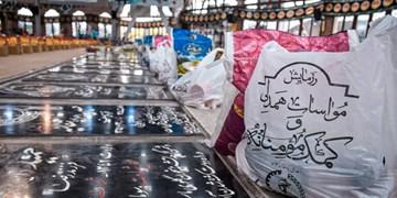 توزیع ۸ هزار بسته معیشتی در گیلان