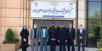 دیدار رئیس فدراسیون اسکواش عراق با دبیرکل کمیته ملی المپیک