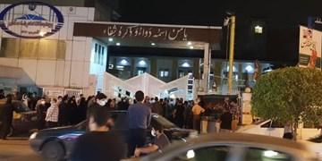 فیلم|انتقال پیکر علامه حسنزاده آملی از بیمارستان امام رضا(ع)