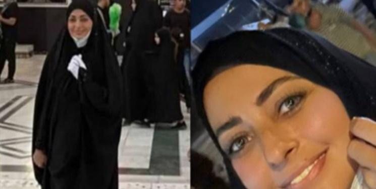 حضور بازیگران زن ایرانی در اربعین و مسیر کربلا + فیلم