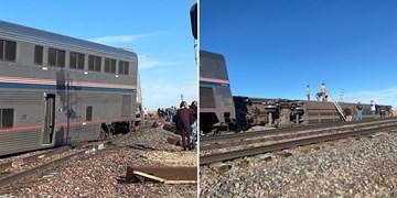 خروج قطار از ریل در «مونتانا» با 3 کشته و دهها مجروح