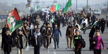 بیش از ۲۰ هزار البرزی در پیادهروی جاماندگان اربعین شرکت میکنند