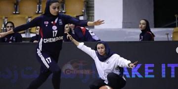 صدرنشینی شیمیدر قم در لیگ برتر بسکتبال بانوان