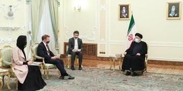 آیتالله رئیسی خطاب به سفیر انگلیس: ملت ایران زیر بار زورگویی هیچ کشوری نمیرود