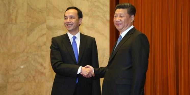 پیام رئیس جمهور چین به رهبر جدید حزب مخالف دولت تایوان