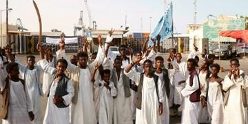 ادامه ممانعت از انتقال نفت توسط معترضان در سودان با بستن دو خط لوله