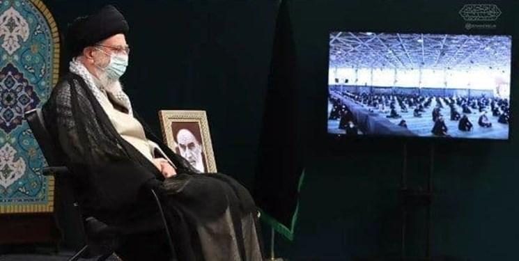 مراسم عزاداری دانشجویان در حضور رهبر انقلاب برگزار شد