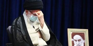 عزاداری اربعین حسینی با     حضور رهبر انقلاب