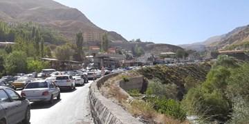 فیلم| ترافیک سنگین قبل ورودی روستای ایرا