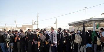 حال و هوای اربعین در مرز مهران