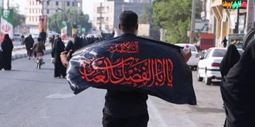 پیاده روی جاماندگان اربعین حسینی در رودان +عکس