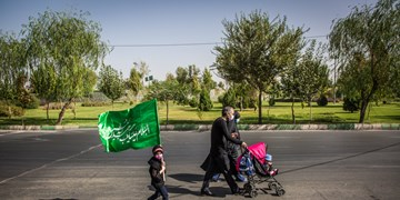 پیاده روی جاماندگان اربعین حسینی(ع) در تهران - 2