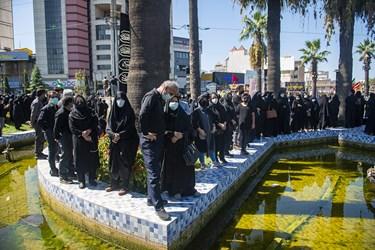 تشییع پیکر علامه حسنزاده آملی با حضور پرشور عاشقان ایشان برگزار شد