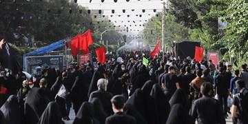 فیلم| میدان امام حسین تا حرم حضرت عبدالعظیم مشایه جاماندگان اربعین