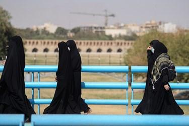 پیادهروی جاماندگان اربعین حسینی در اصفهان