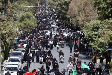 حضور پرشور اصفهانیها در راهپیمایی جاماندگان