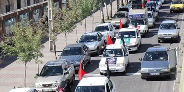 کاروان خودرویی جوانان رشت در اربعین ۱۴۰۰+ فیلم