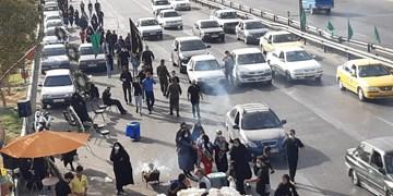 فیلم| حضور دهها هزار نفری مردم دشت ورامین در پیادهروی اربعین حسینی
