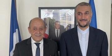 امیرعبداللهیان به وزیر خارجه فرانسه چه گفت؟