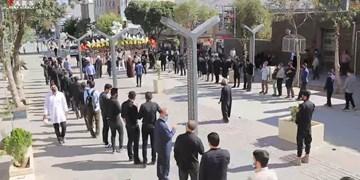 فیلم| تجلی ارادت تسنن و تشیع در سنندج به امام حسین(ع) در پیادهروی اربعین