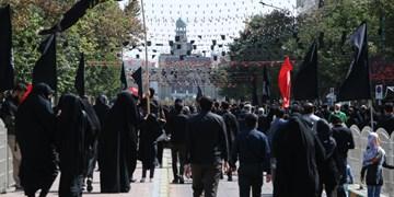 حال و هوای جاماندگان اربعین در مشهد + فیلم