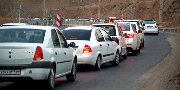 «ترافیک» در جادههای شمالی/بارش برف و باران در محورهای ۷ استان