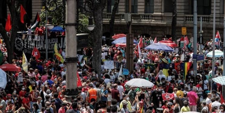 تظاهراتکنندگان در برزیل خواستار استیضاح رئیسجمهور شدند