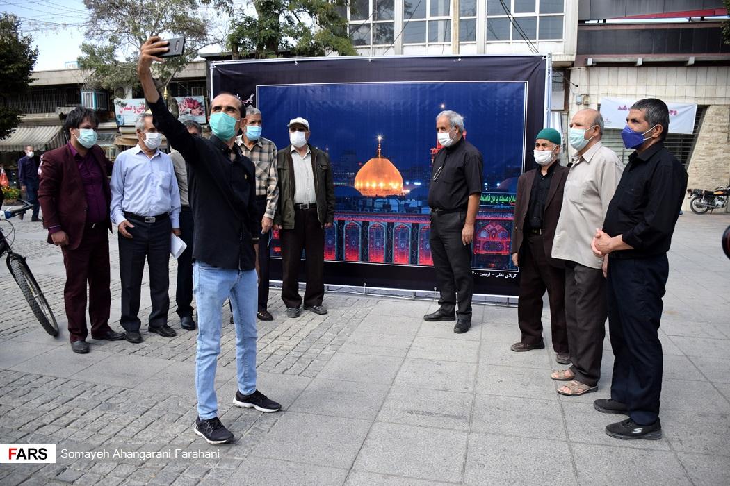 افتتاح نمایشگاه  عکس نایب الزیاره درپیاده راه امیرکبیر اراک