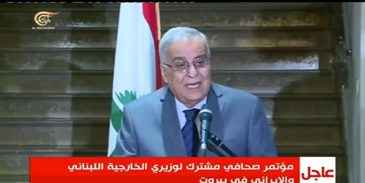 وزیر خارجه لبنان: گفتوگوی ایران با عربستان سعودی را تأیید میکنیم