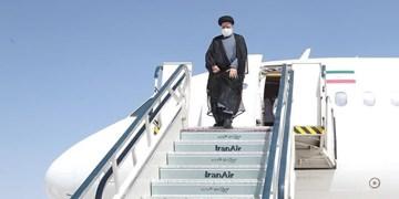 رئیس جمهور وارد استان اردبیل شد
