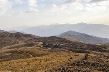 نوار مرزی ایران و عراق در منطقه دوپازا
