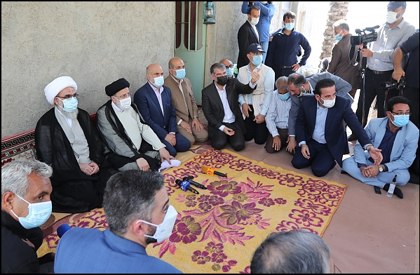 14000716000585 Test NewPhotoFree - گزارش سفر رئیسجمهور به بوشهر/ از حضور در آلاچیق کشاورزان تا بازدید از مراحل ساخت شناور شهید سلیمانی