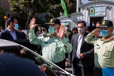 سردار حسین رحیمی فرمانده پلیس تهران